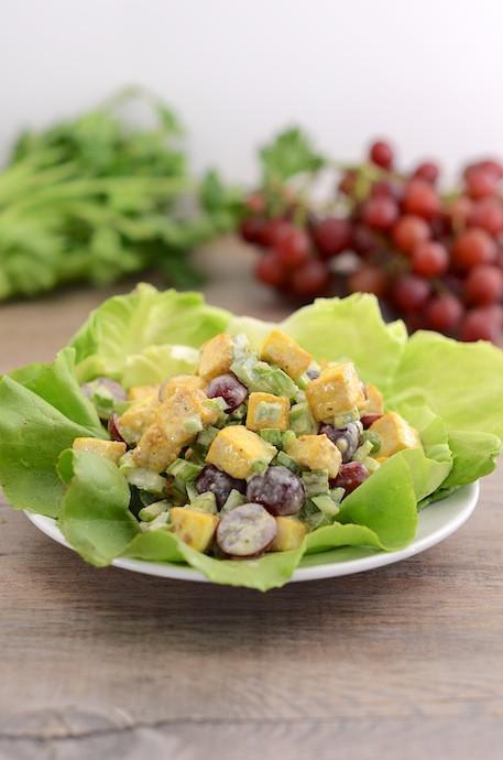Vegan Chicken Salad  Vegan Chicken Salad
