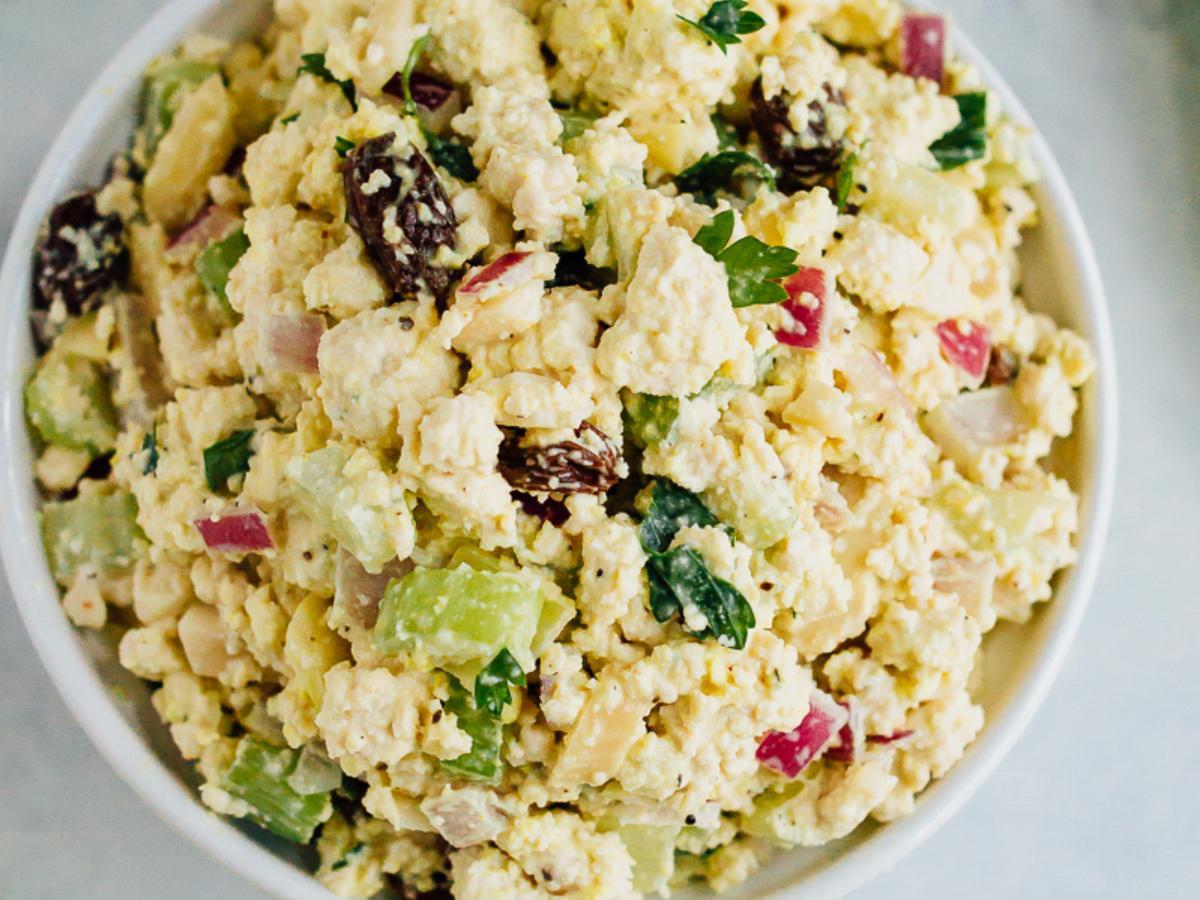 Vegan Chicken Salad  Vegan Chicken Salad Nutrition Information Eat This Much