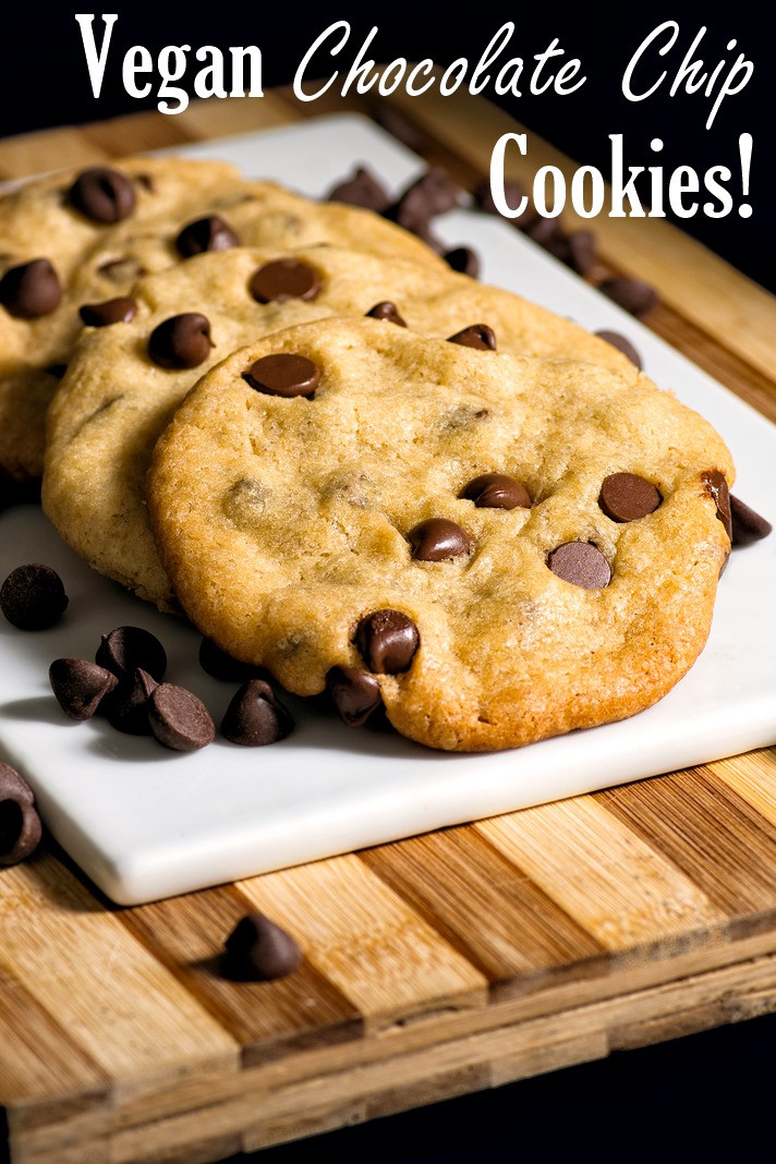 Vegan Chocolate Chip Cookies Recipe  The Best Nut Free Vegan Chocolate Chip Cookies Recipe