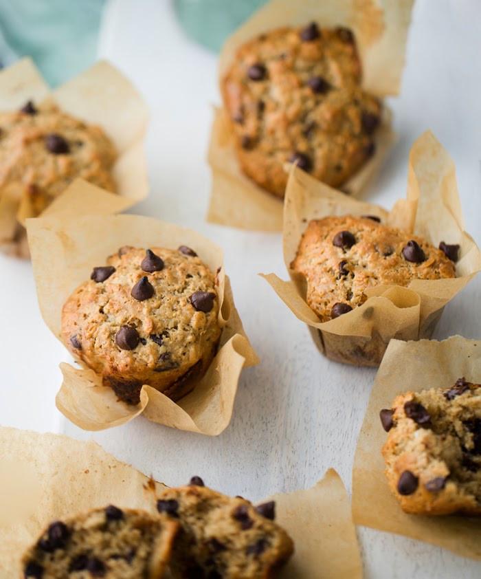 Vegan Chocolate Chip Muffins  Vegan Chocolate Chip Muffins