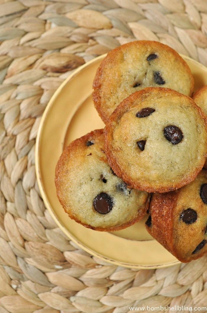 Vegan Chocolate Chip Muffins  Vegan Banana Chocolate Chip Muffins
