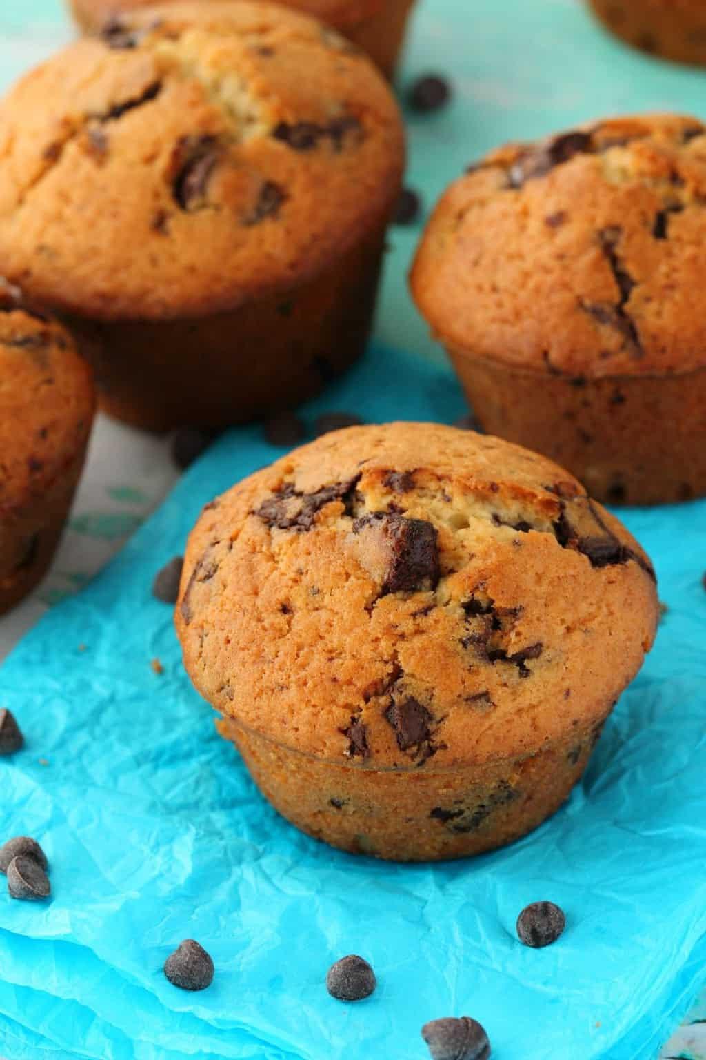 Vegan Chocolate Chip Muffins  Vegan Chocolate Chip Muffins Moist and Rich Loving It