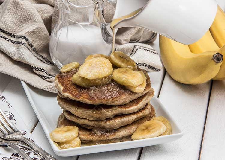Vegan Coconut Flour Pancakes  vegan coconut flour banana pancakes