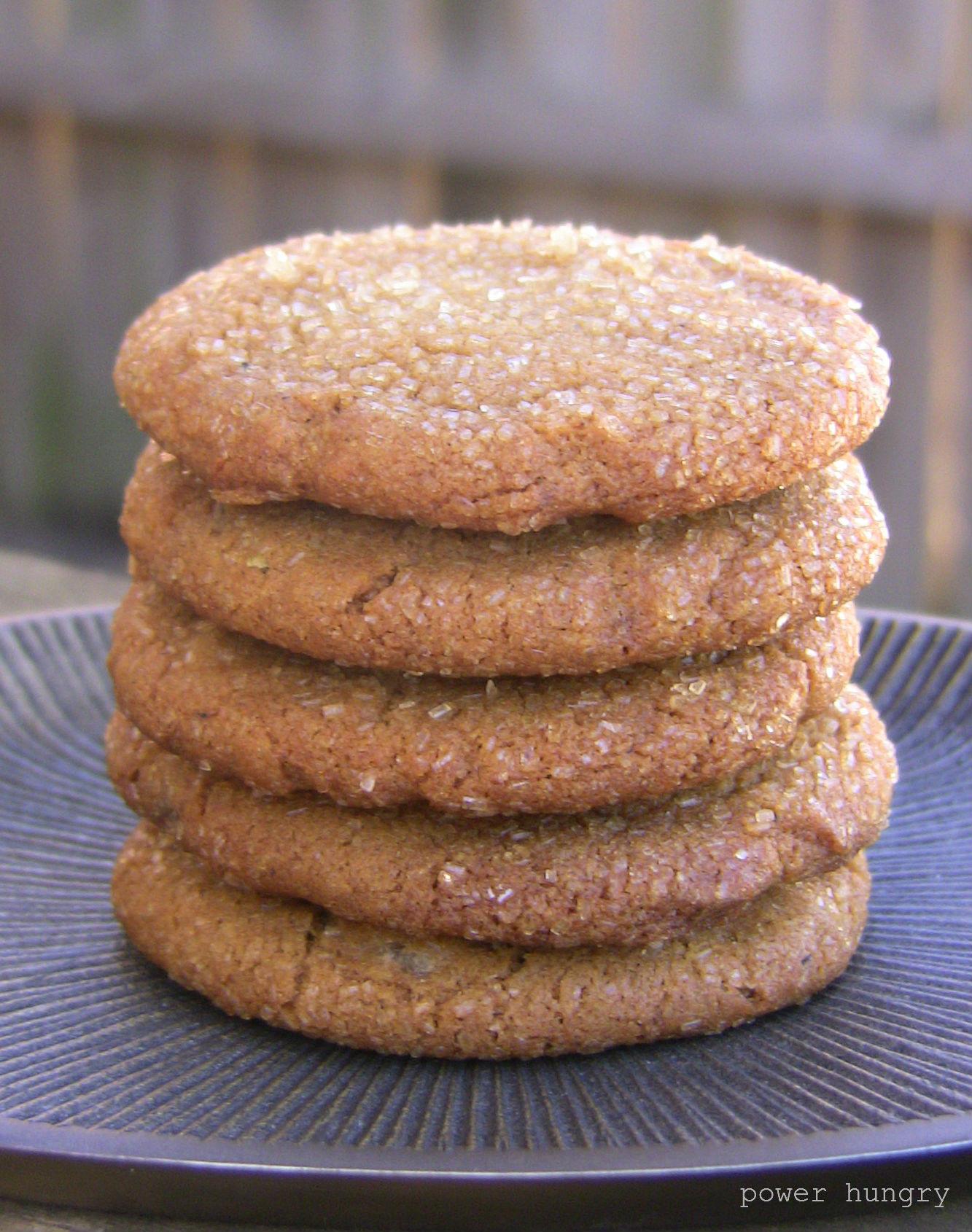 Vegan Cookie Recipes  Vegan Ginger Cookies
