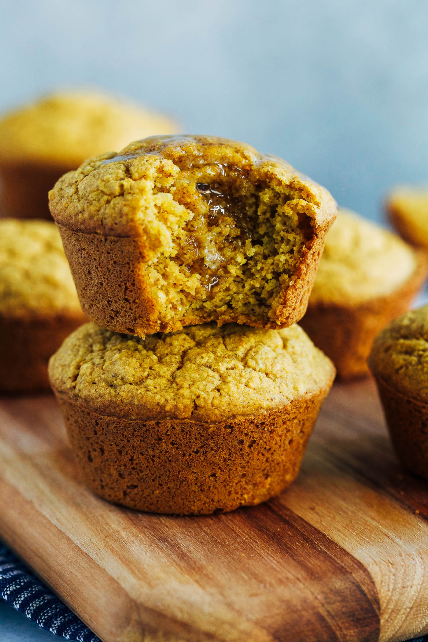 Vegan Cornbread Recipe  Vegan Pumpkin Cornbread Muffins Making Thyme for Health