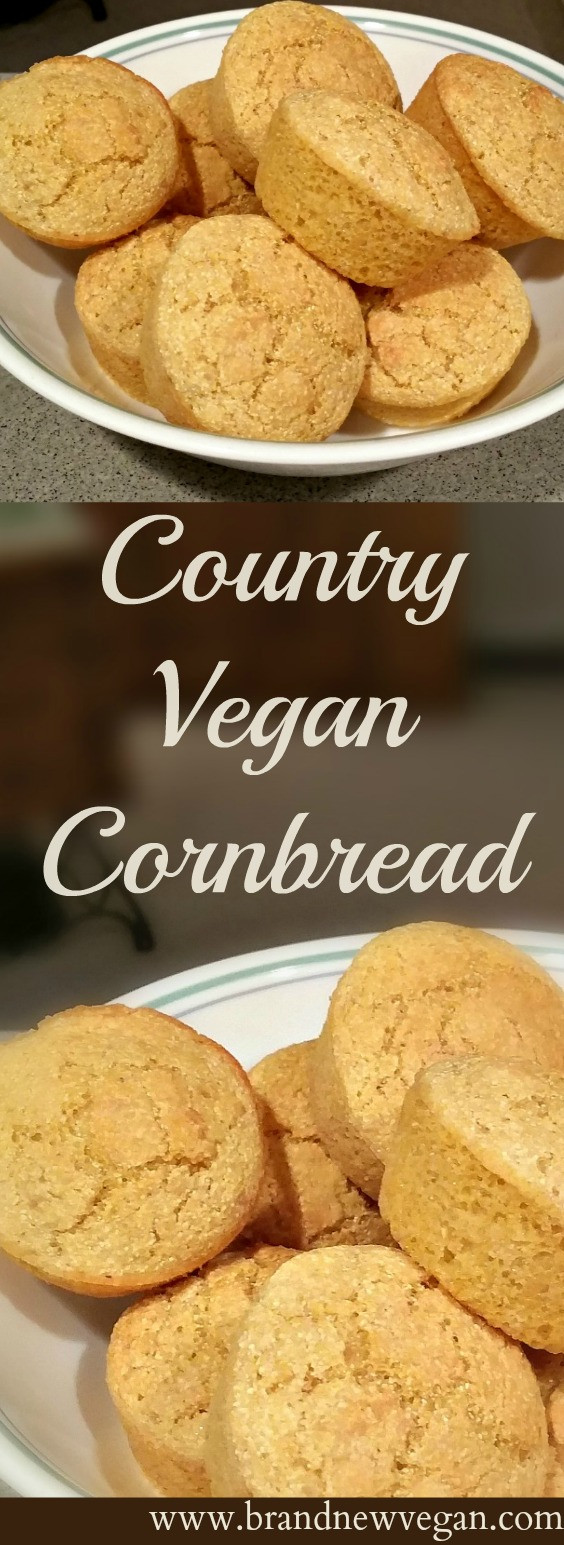 Vegan Cornbread Recipe  Country Vegan Cornbread Brand New Vegan