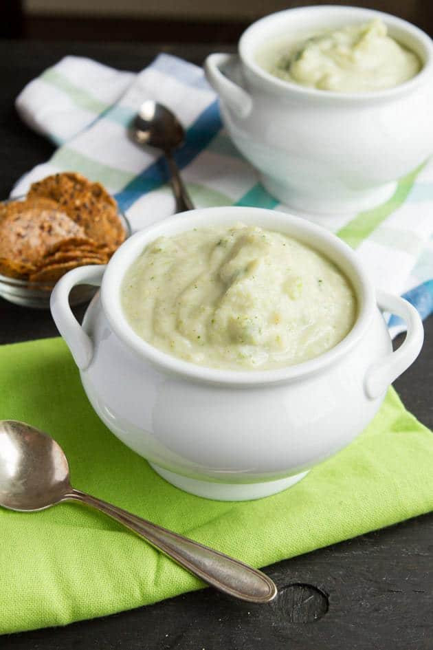 Vegan Cream Of Broccoli Soup  50 Best Low Carb Soup Recipes for 2018