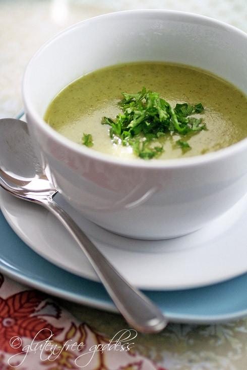 Vegan Cream Of Broccoli Soup  Vegan Cream Boccoli Soup Recipe — Dishmaps