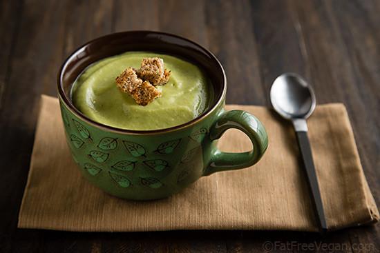 Vegan Cream Of Broccoli Soup  Vegan Cream of Broccoli Soup