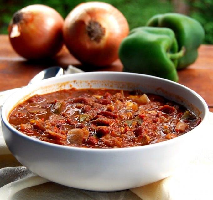 Vegan Crock Pot Recipes  Fat Free Vegan Crock Pot Chili