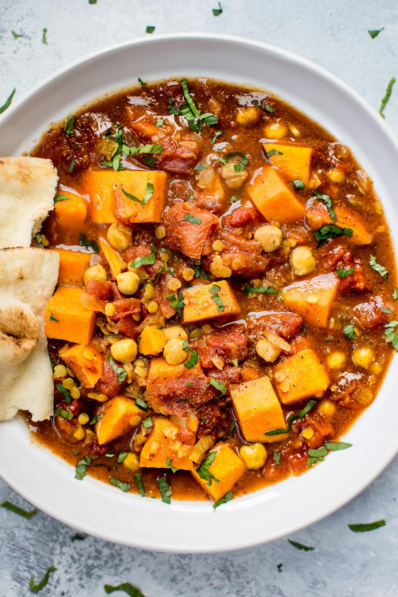Vegan Crock Pot Recipes  Vegan Sweet Potato Curry Crockpot Recipe • Salt & Lavender