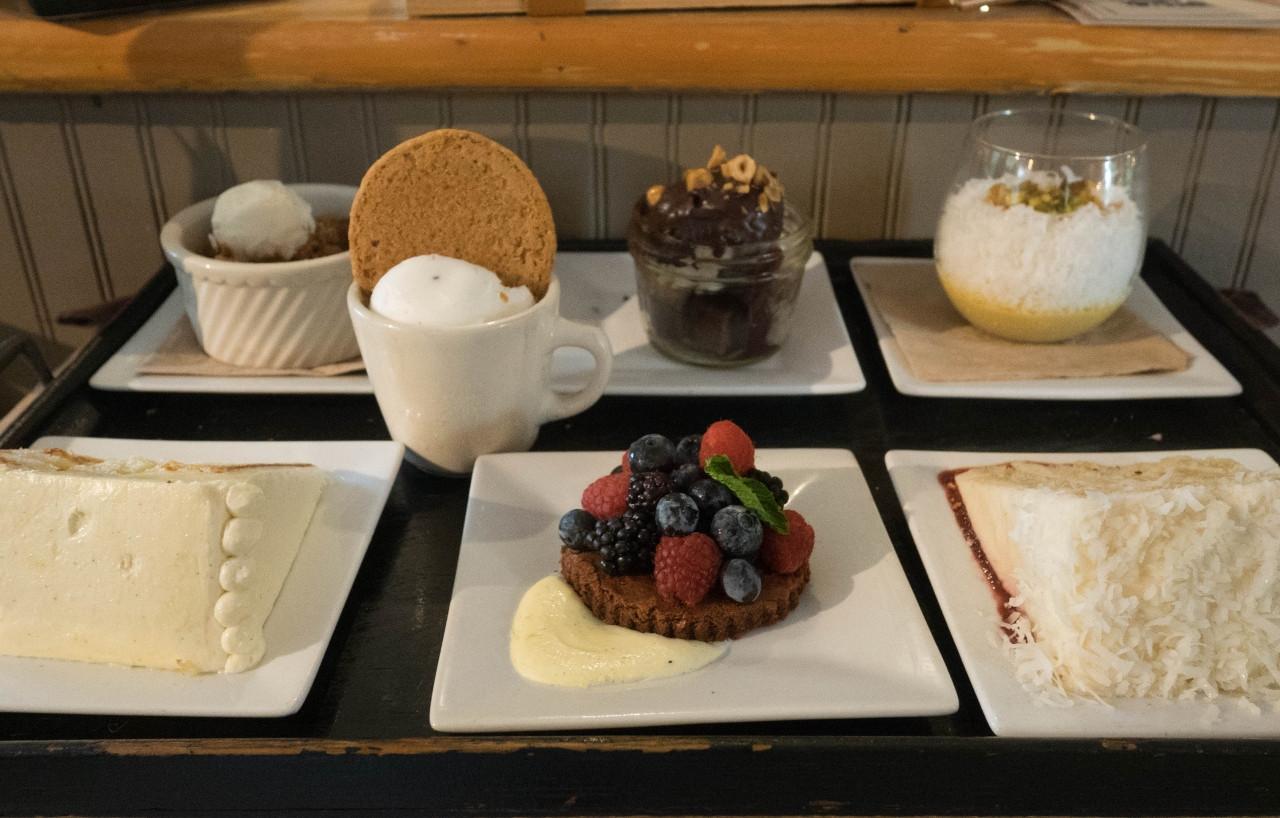 Vegan Desserts Seattle  Real Food Traveler Café Flora Seattle's Ve arian