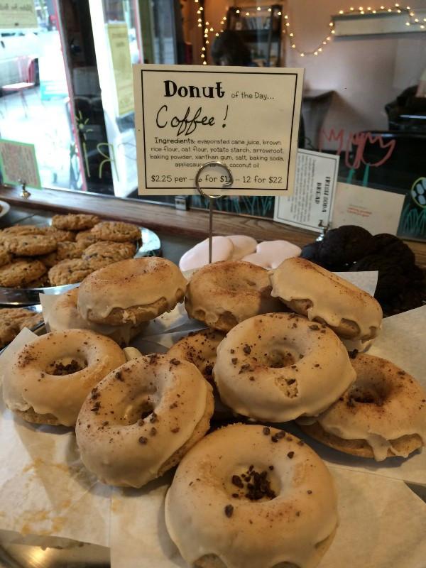 Vegan Desserts Seattle  Flying Apron Bakery Fremont Vegan Traveller Reviews