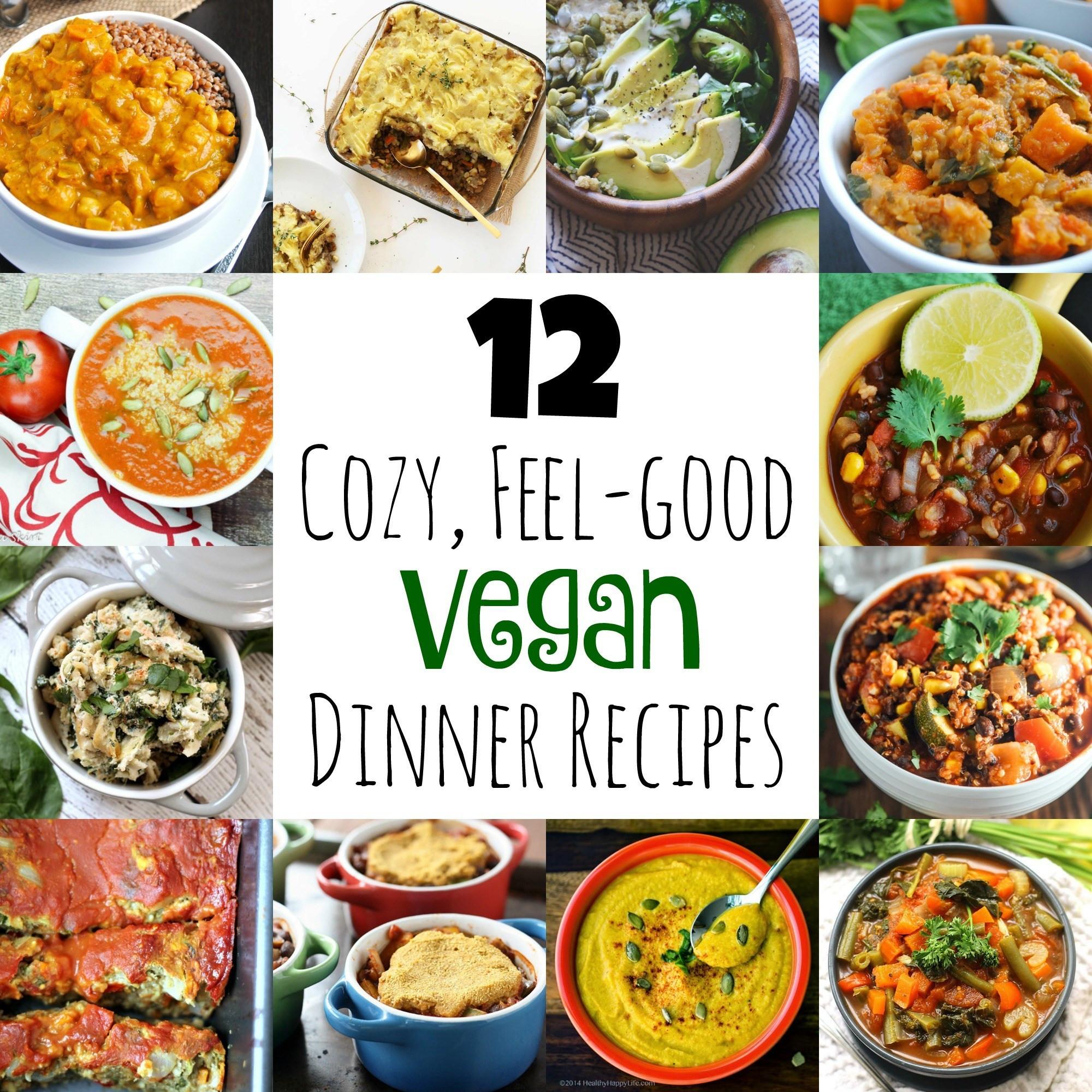 Vegan Dinner For Two  12 Cozy Feel Good Vegan Dinner Recipes