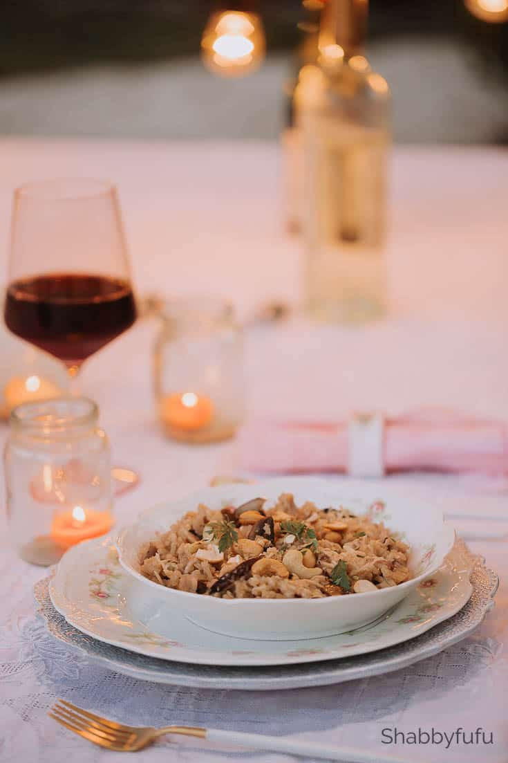 Vegan Dinner For Two  Dinner Ideas For Two Vegan Valentines Day shabbyfufu