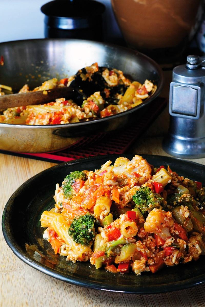 Vegan Dinner For Two  Deconstructed Veggie Lasagna Recipe Vegan Dinner for e