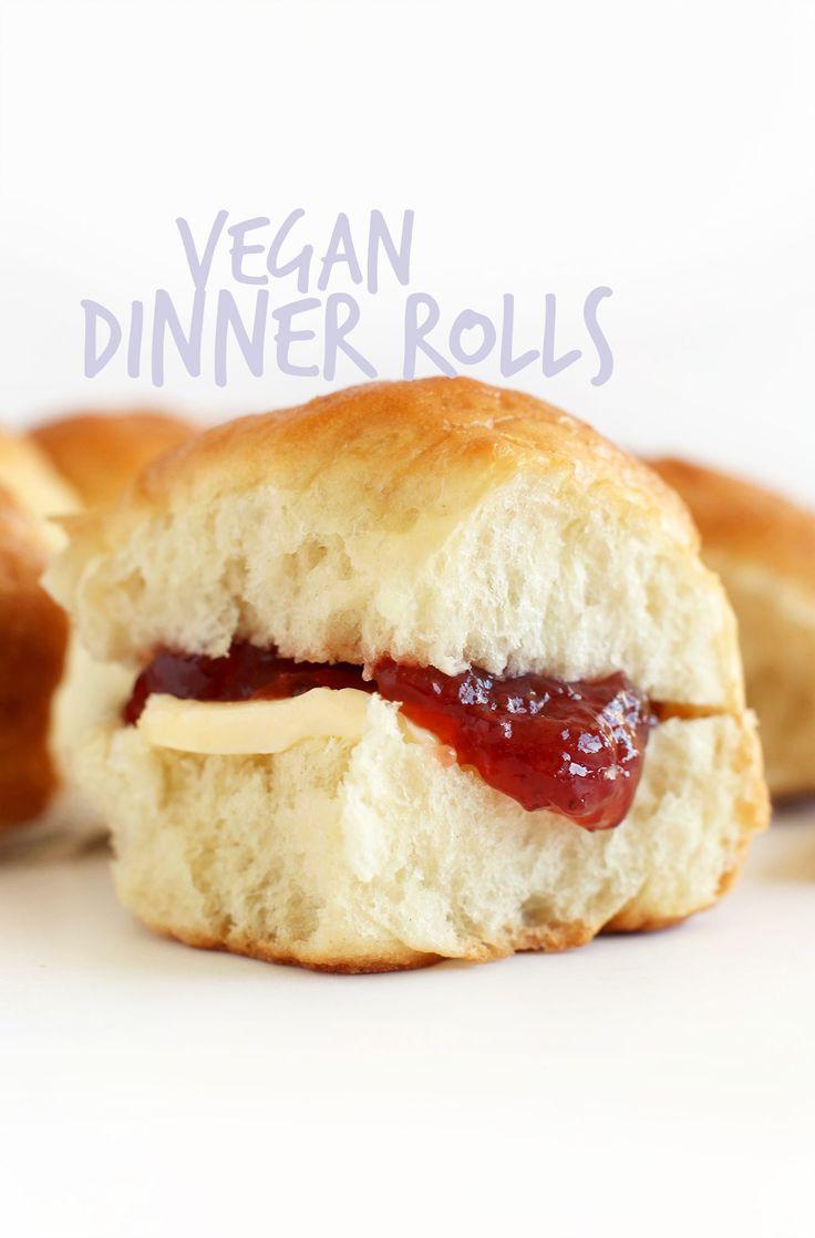 Vegan Dinner Roll  Simple Vegan Dinner Rolls Recipe