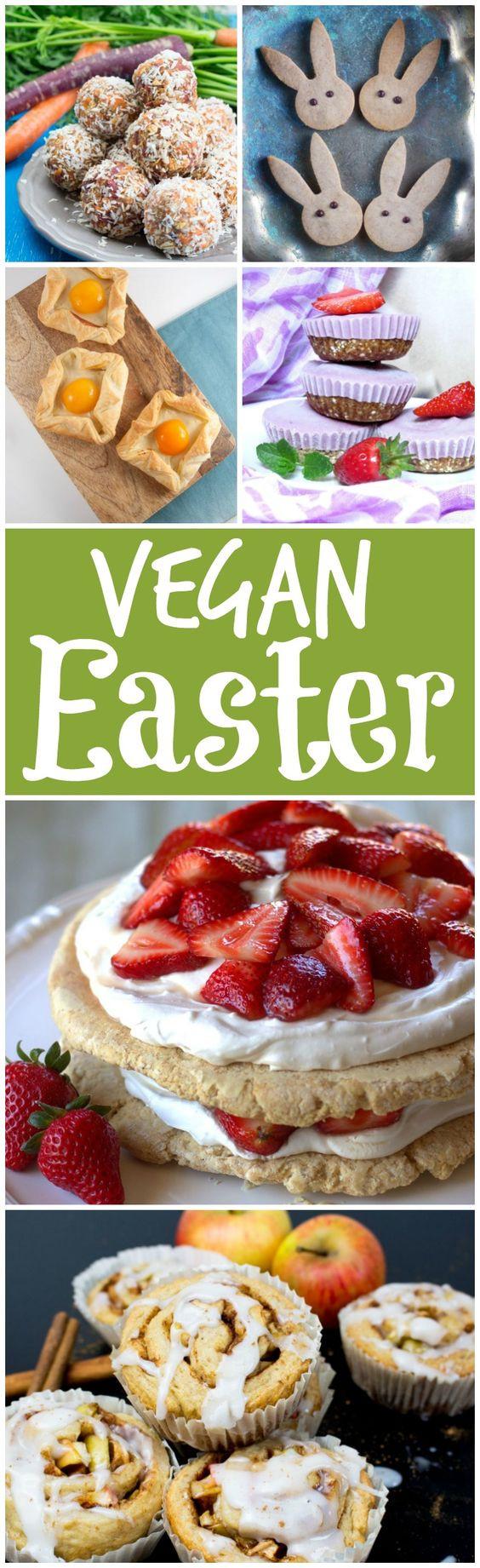 Vegan Easter Desserts 15 Delicious Vegan Easter Recipes