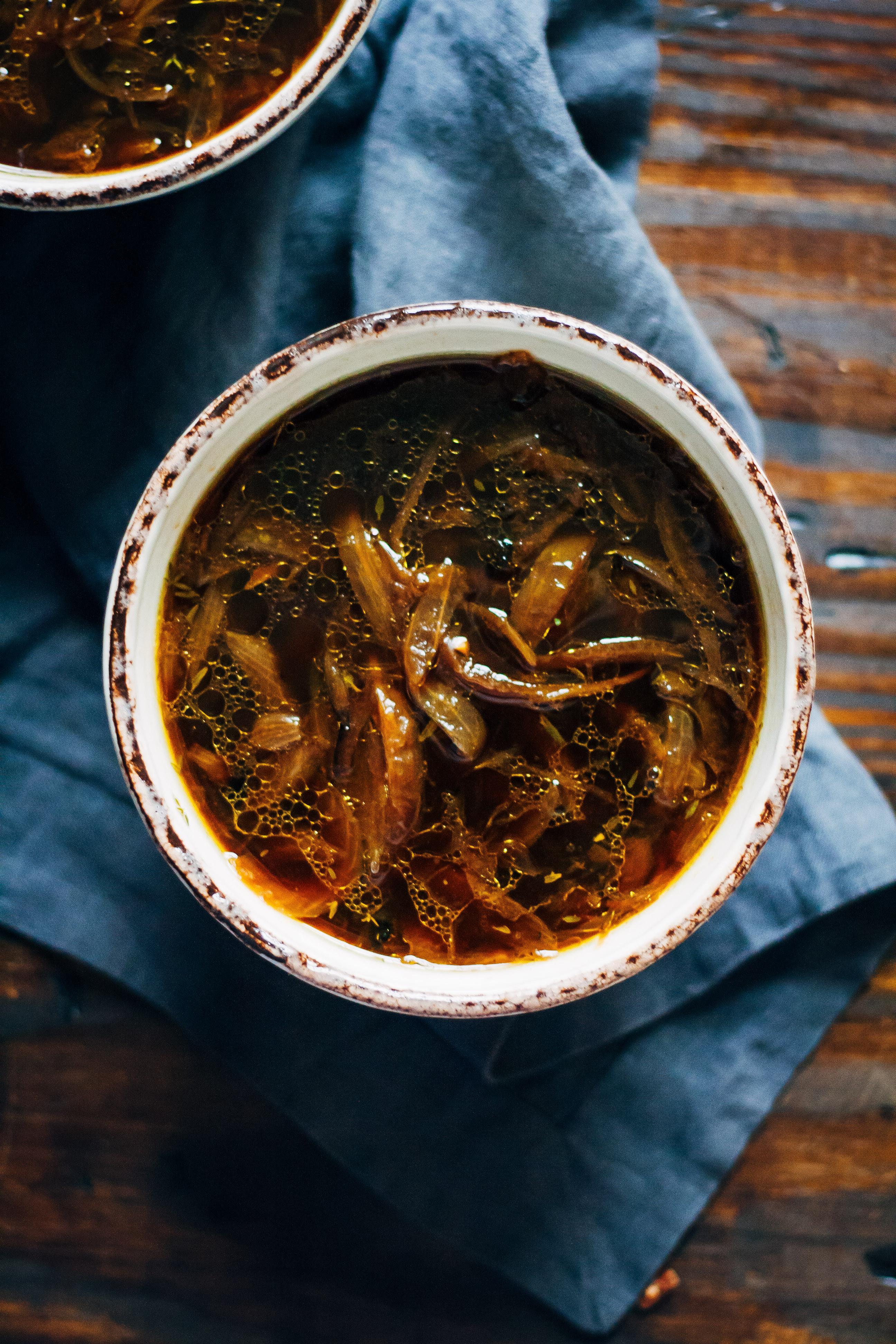 Vegan French Onion Soup  Vegan French ion Soup