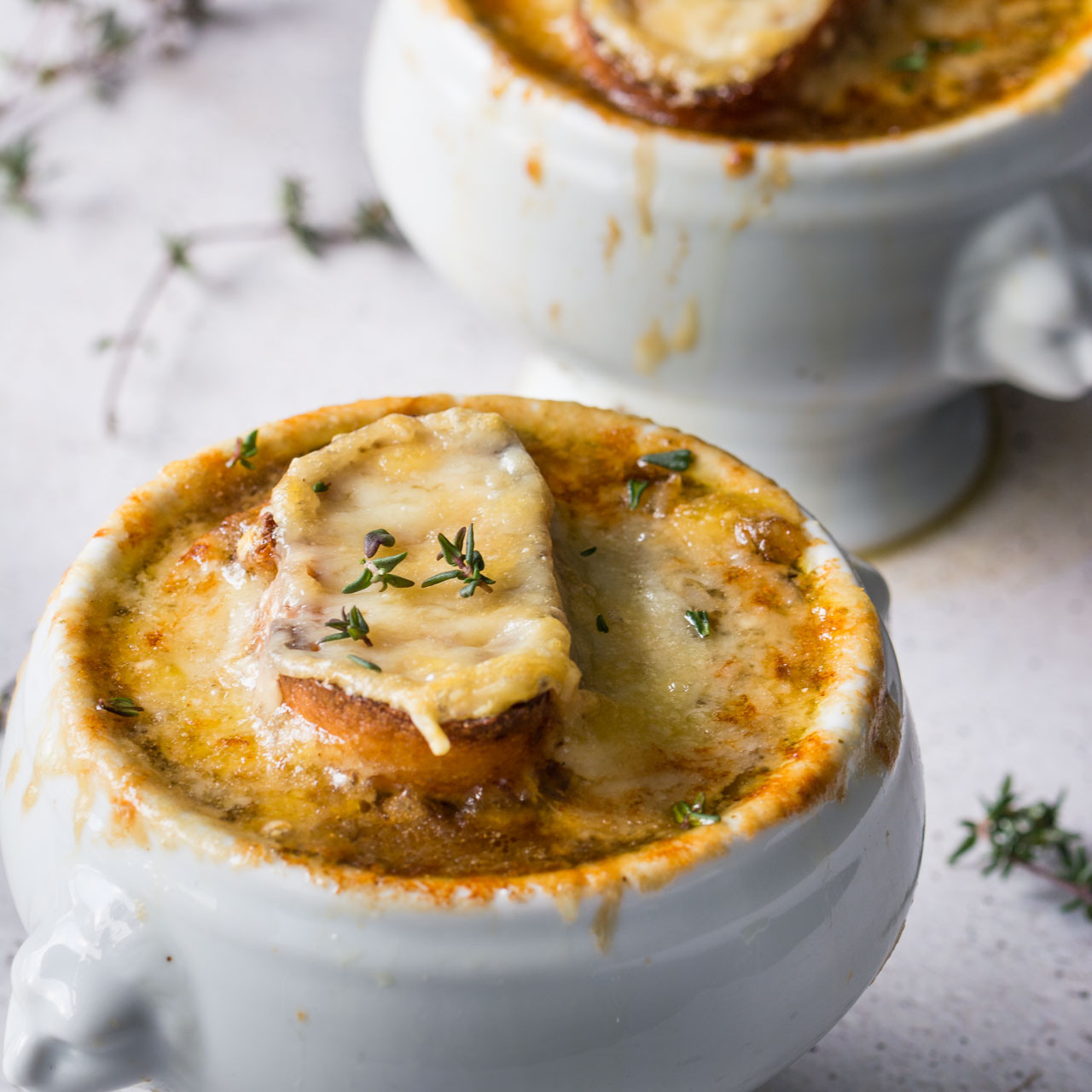 Vegan French Onion Soup  Ve arian French ion Soup