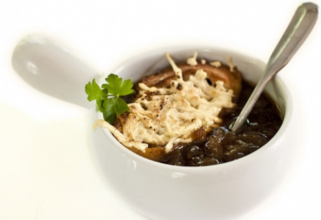 Vegan French Onion Soup  Ve arian Vegan French ion Soup Recipe Halthy