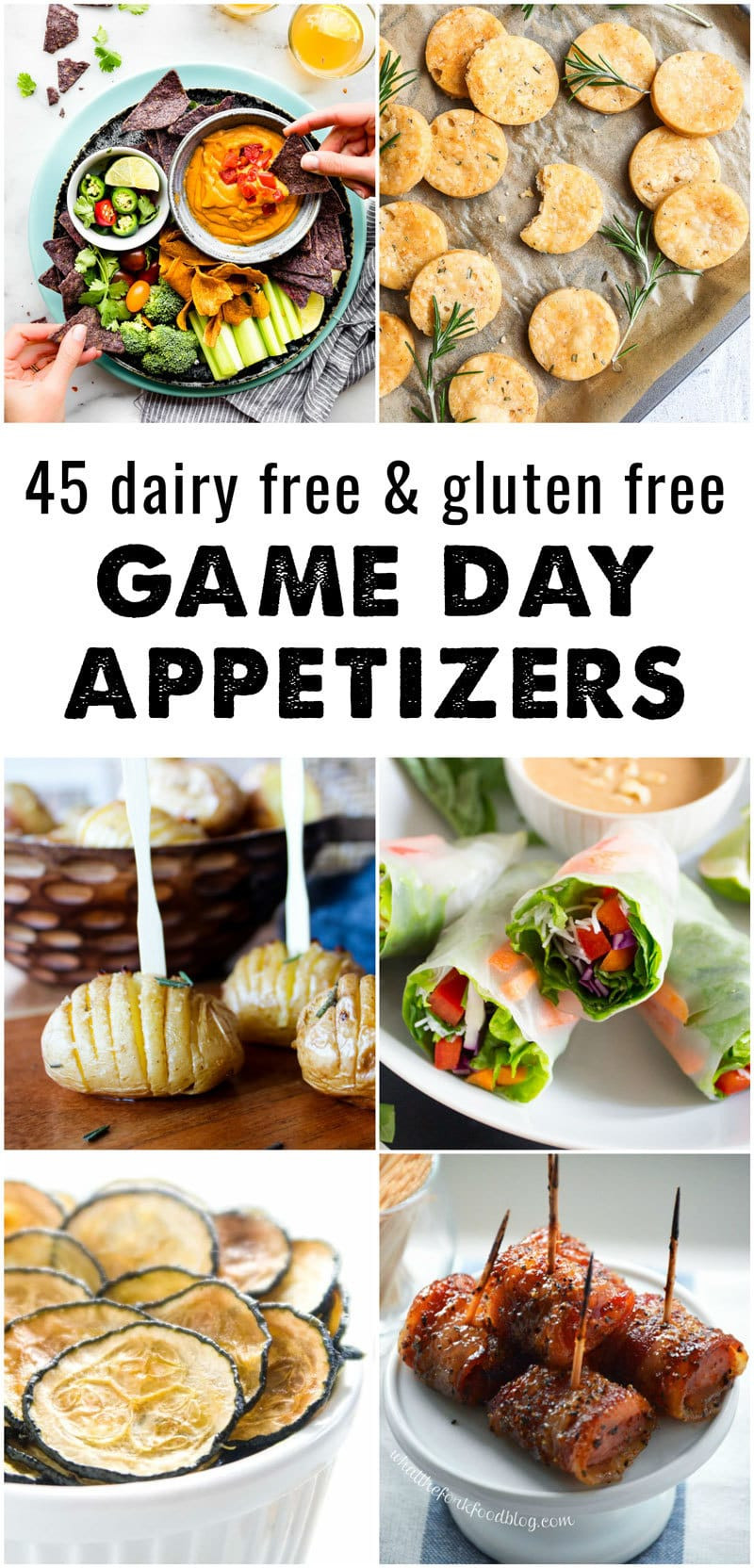 Vegan Gluten Free Appetizers  45 Dairy Free and Gluten Free Appetizers • The Fit Cookie