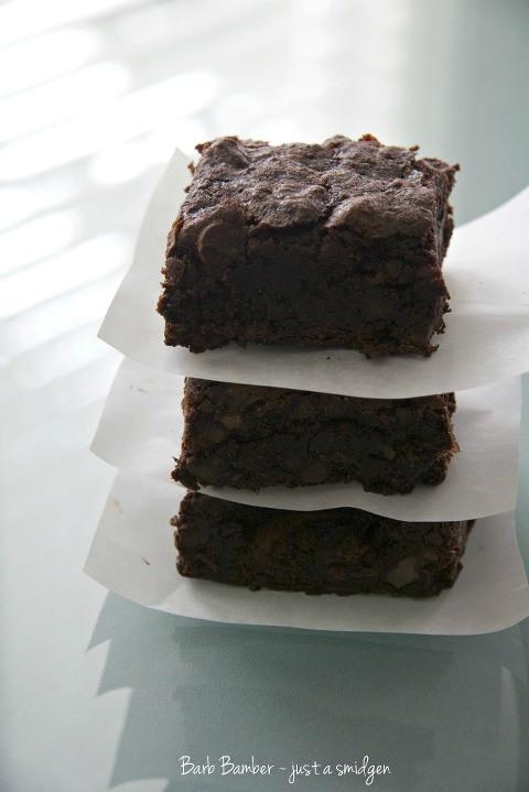 Vegan Gluten Free Brownies  Emeril's Gluten Free Vegan Brownies Just a Smidgen