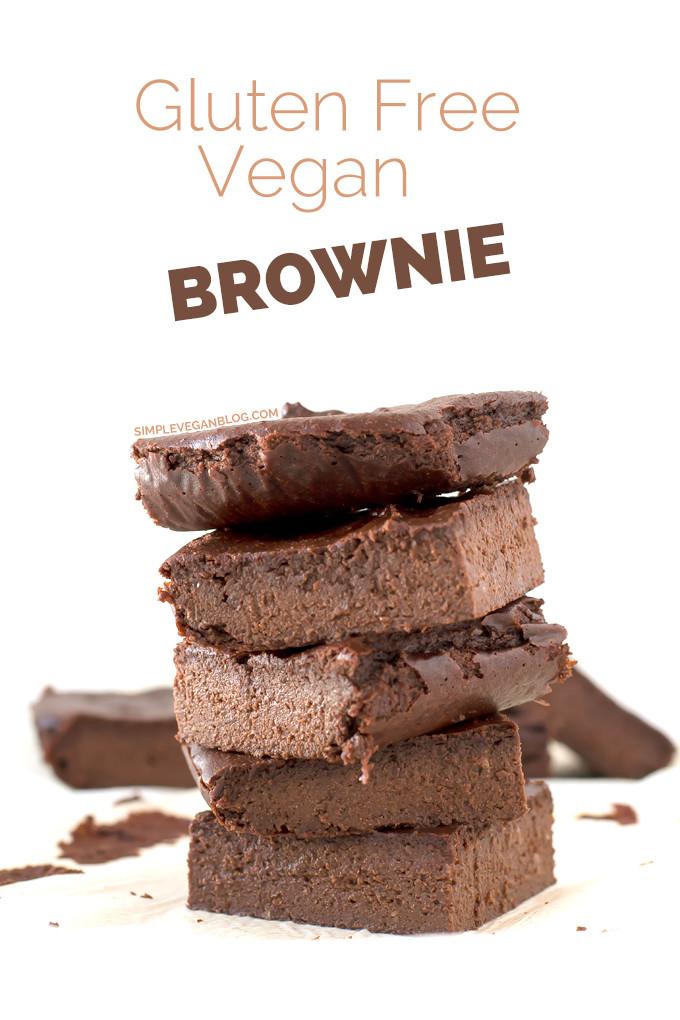 Vegan Gluten Free Brownies  Gluten Free Brownies Recipe — Dishmaps