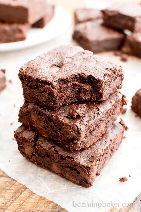 Vegan Gluten Free Brownies  vegan brownies applesauce