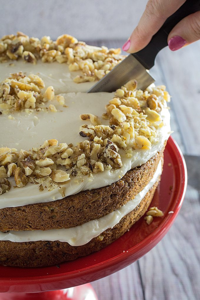 Vegan Gluten Free Carrot Cake  Vegan Carrot Cake Gluten Free Dishing Delish