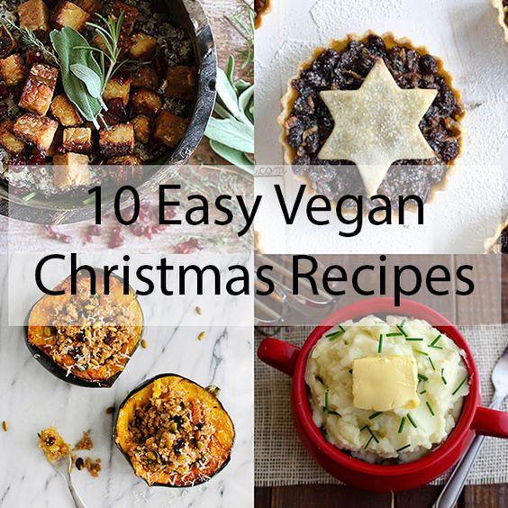 Vegan Holiday Recipes  Vegan christmas Christmas recipes and Vegans on Pinterest