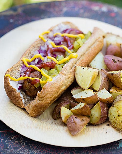 Vegan Hot Dogs  Homemade Veggie Dogs