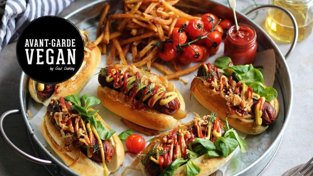 Vegan Hot Dogs  'CHORIZO' VEGAN HOT DOGS