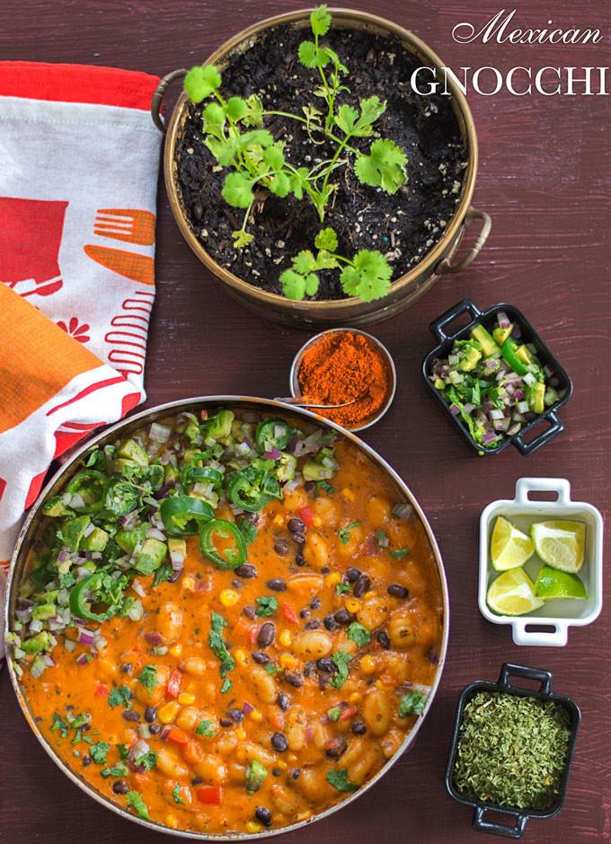 Vegan Mexican Recipes  Mexican Gnocchi