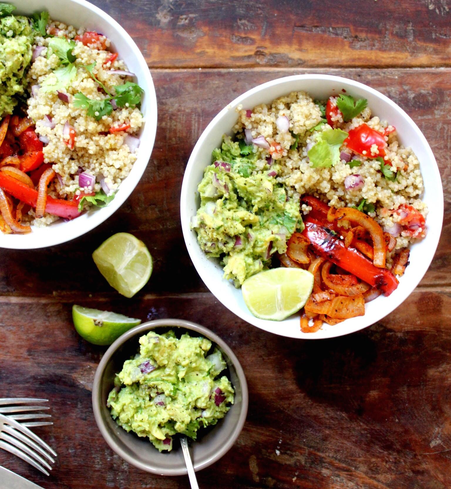 Vegan Mexican Recipes  Vegan Mexican Quinoa Bowl The Little Green Spoon