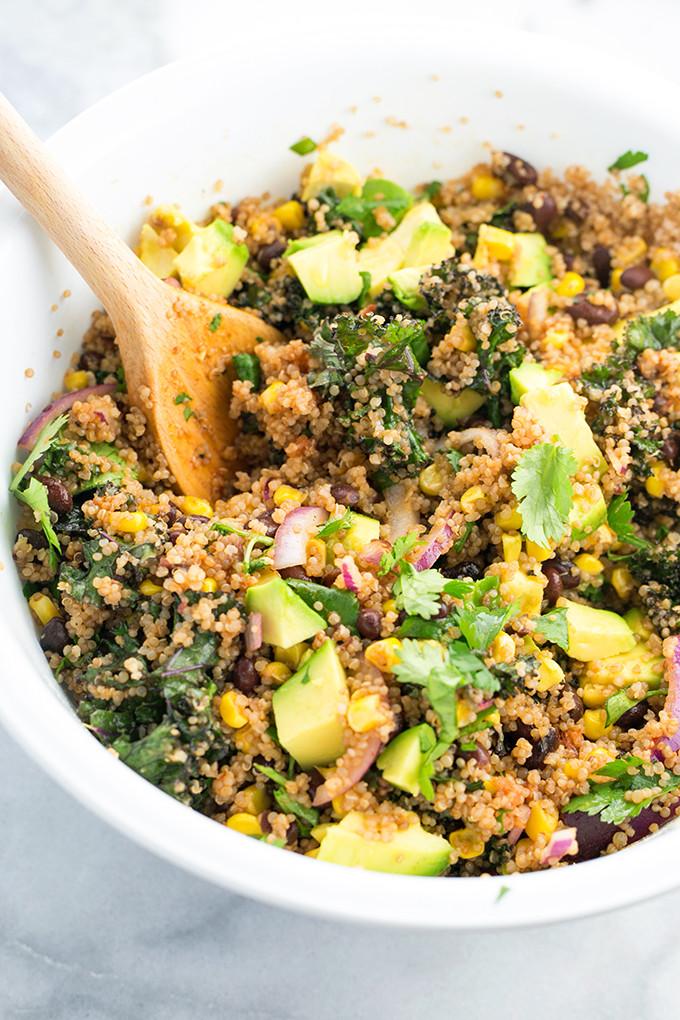 Vegan Mexican Recipes  vegan mexican quinoa salad
