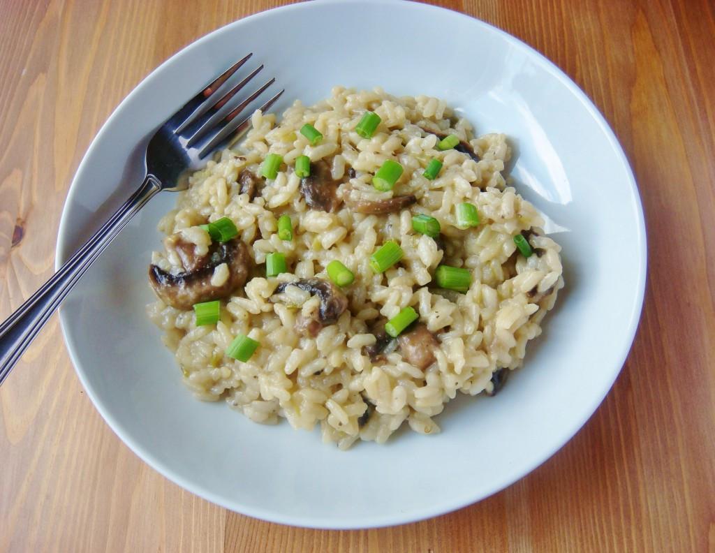 Vegan Mushroom Risotto  Mushroom Risotto vegan Christina Najjar