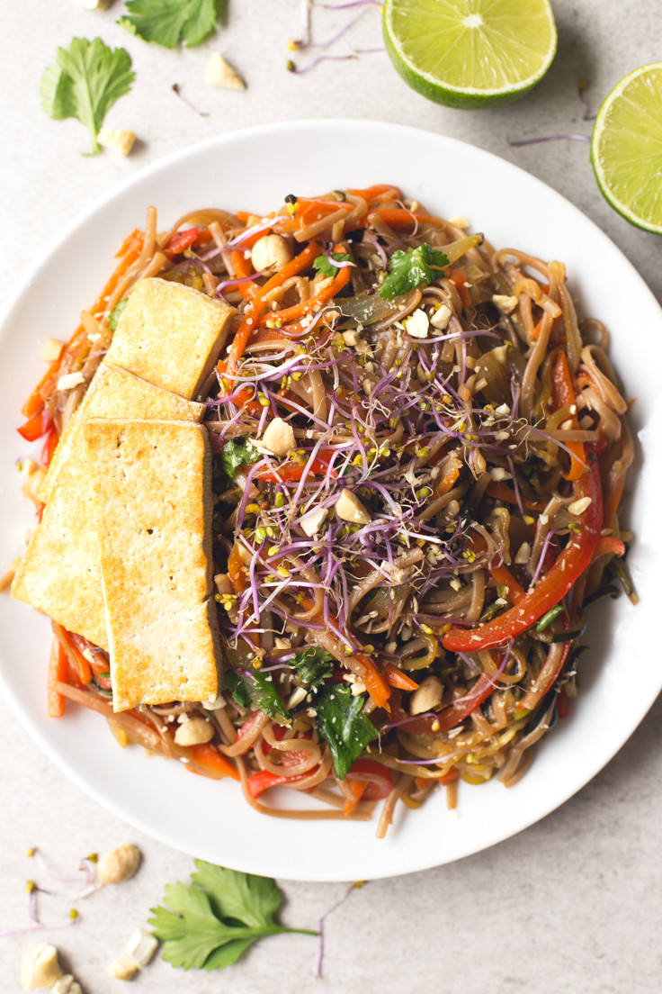 Vegan Pad Thai  Vegan Pad Thai