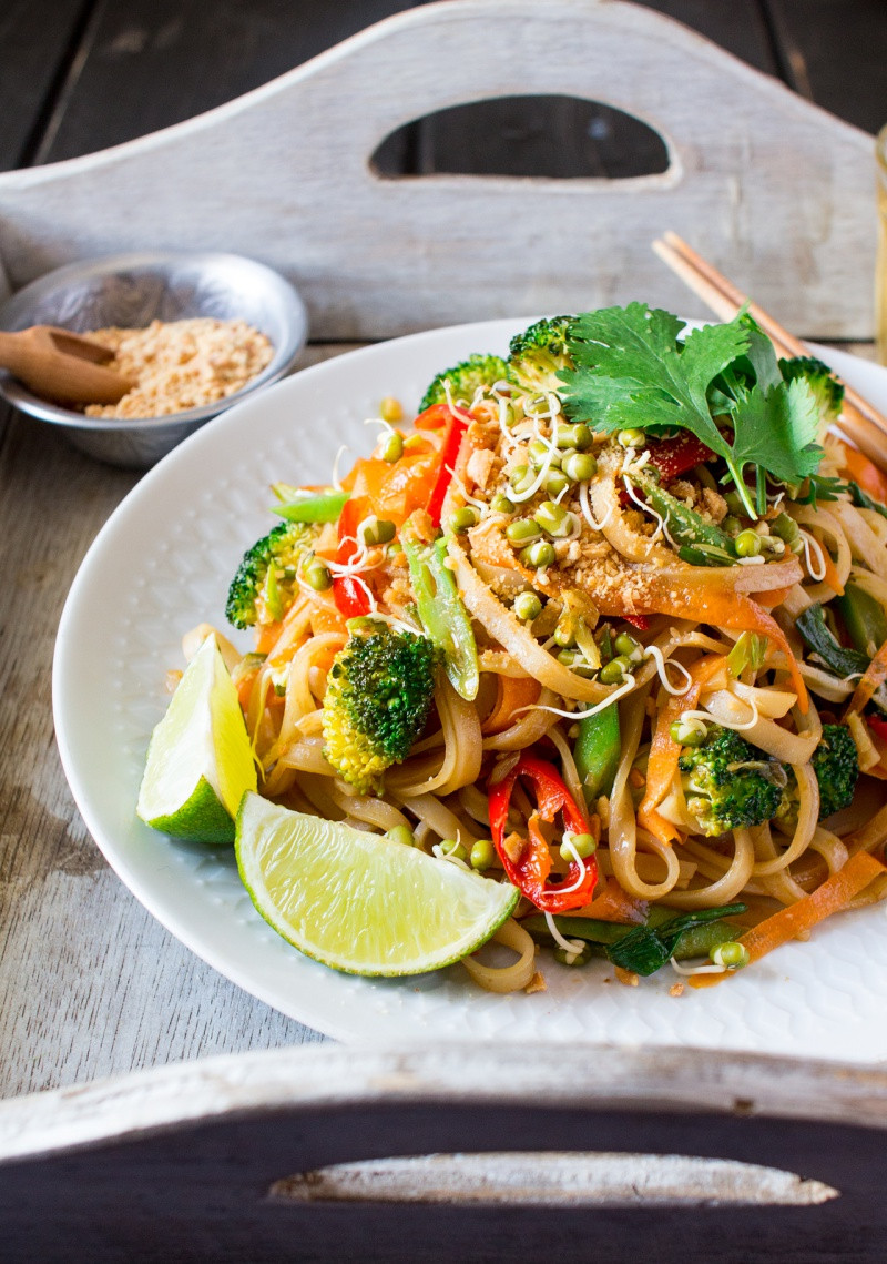 Vegan Pad Thai  Vegan pad thai Lazy Cat Kitchen
