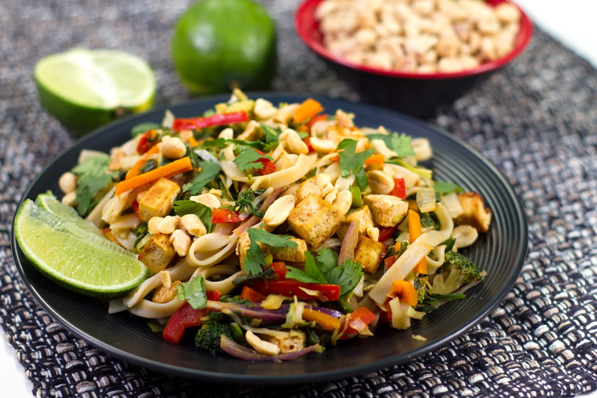 Vegan Pad Thai  Vegan Pad Thai Recipe from The PlantPure Kitchen