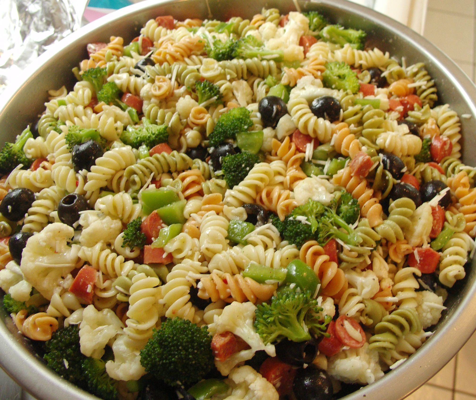 Vegan Pasta Salad  Fat Free Vegan Pasta Salad Recipe
