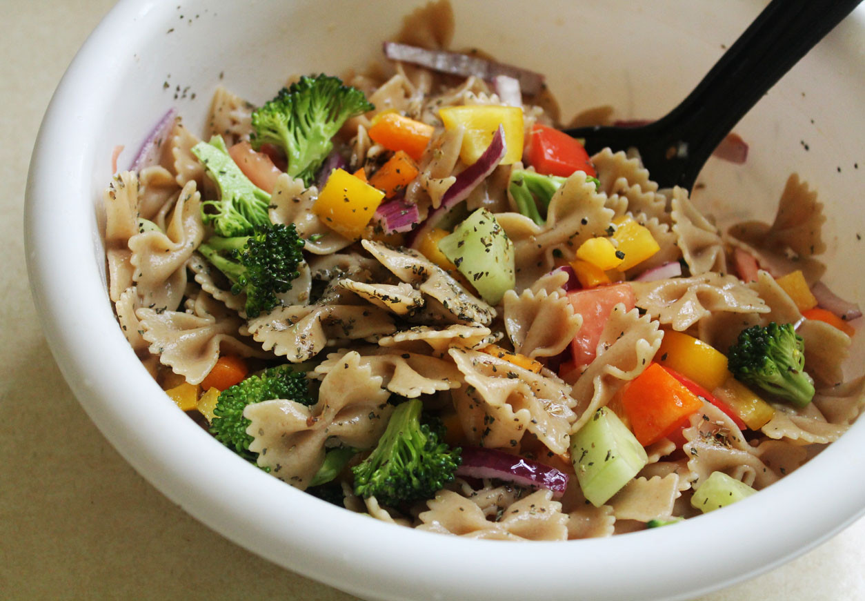Vegan Pasta Salad  vegan pasta salad recipe