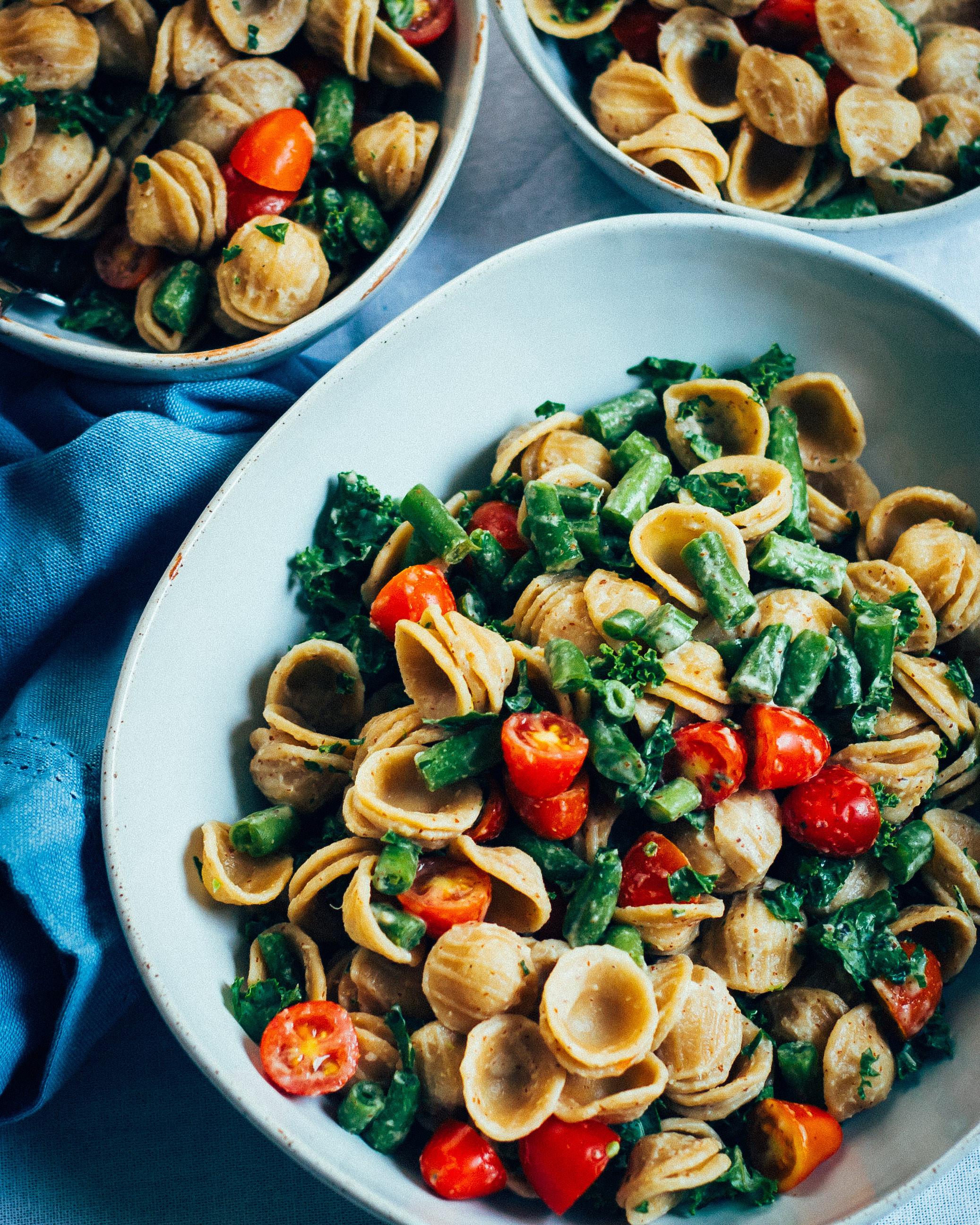 Vegan Pasta Salad  The Best Vegan Pasta Salad