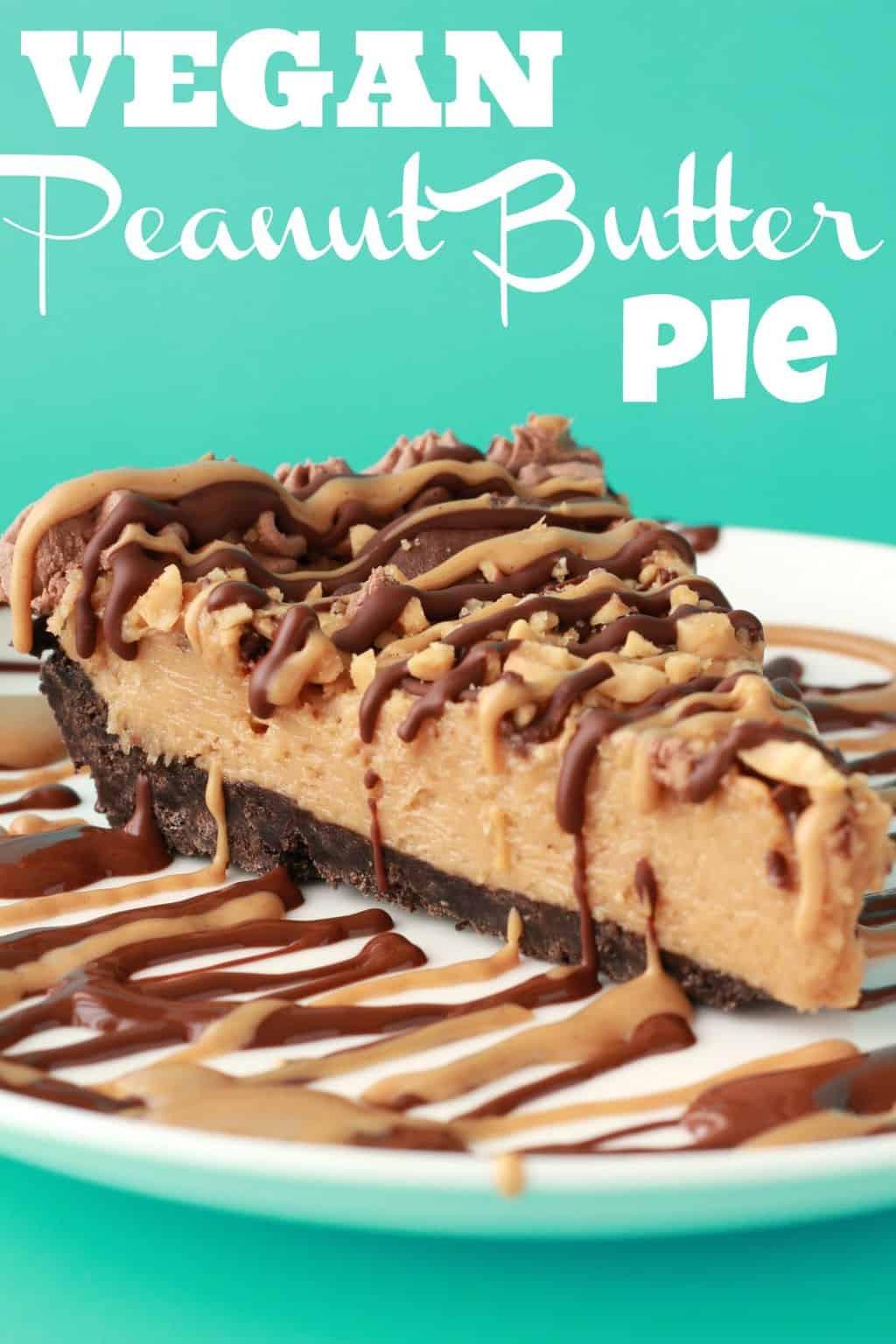 Vegan Peanut Butter Pie  Vegan Peanut Butter Pie Loving It Vegan