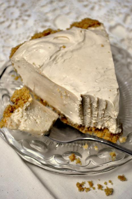 Vegan Peanut Butter Pie  Vegan Peanut Butter Silk Pie Hell Yeah It s Vegan