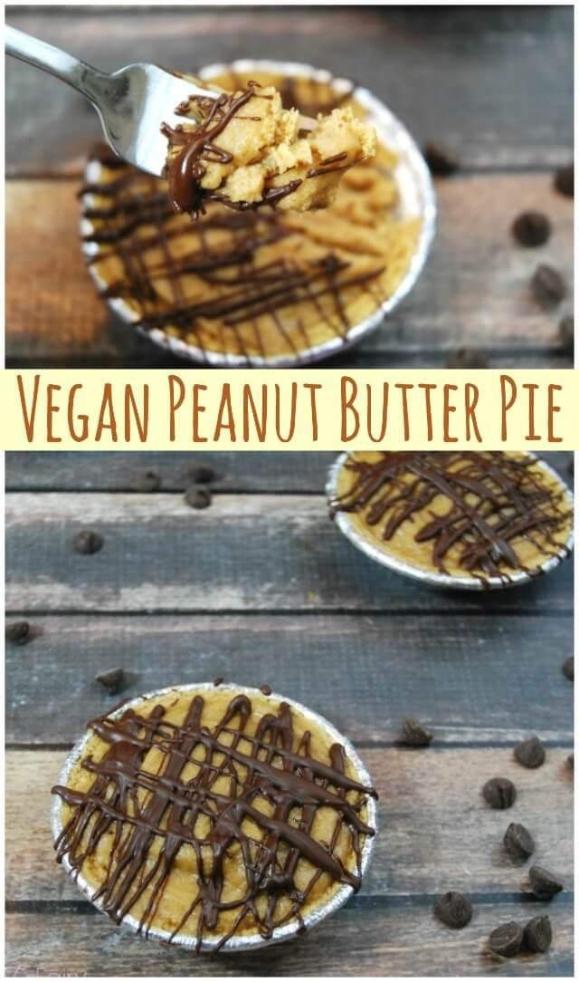 Vegan Peanut Butter Pie  Vegan Peanut Butter Pie