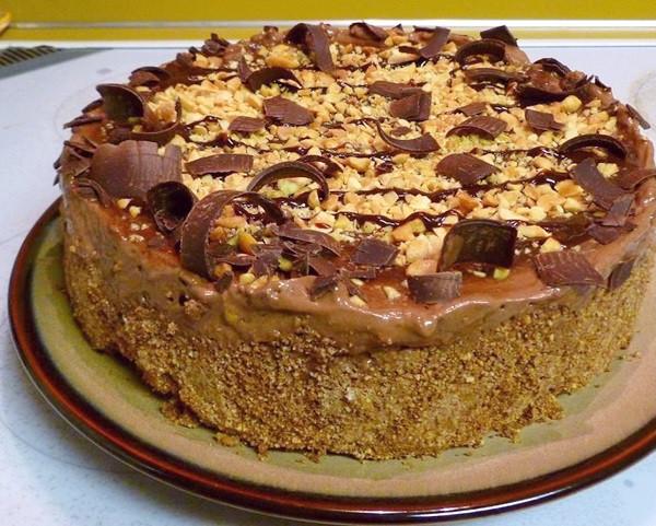 Vegan Peanut Butter Pie  Vegan Chocolate Peanut Butter Swirl Mousse Pie Recipe Go