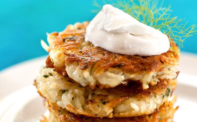 Vegan Potato Pancakes  Vegan Sweet Potato Latkes