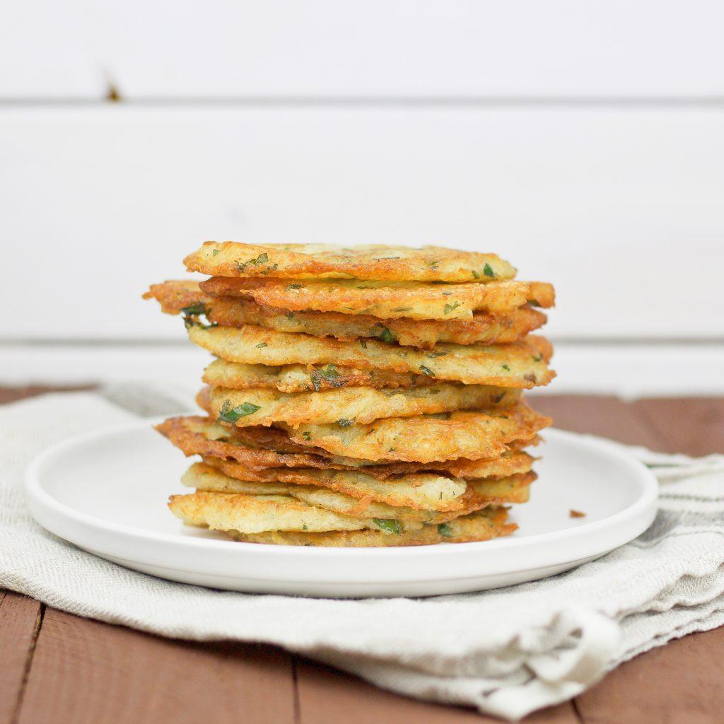 Vegan Potato Pancakes  Vegan Potato pancakes hashbrowns