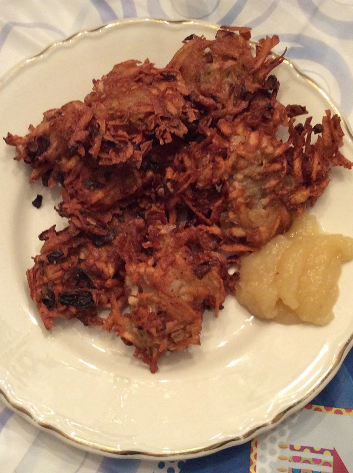 Vegan Potato Pancakes  Simple Vegan Latkes Potato Pancakes Life Gone Vegan